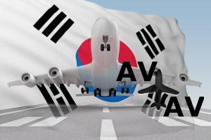 airplane South Korea