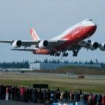 Boeing 747-8 Intercontinental совершил первый полет