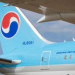 Южнокорейская Korean Air войдет в десятку крупнейших мировых авиаперевозчиков