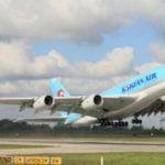 Первый Airbus А380 для Korean Air проходит последние испытания